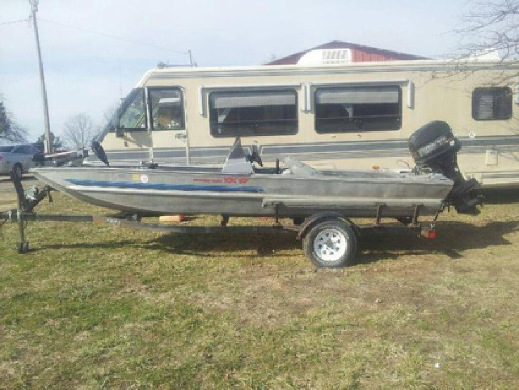 $3,000 Boat, Motor & Trailer - ALL 1994