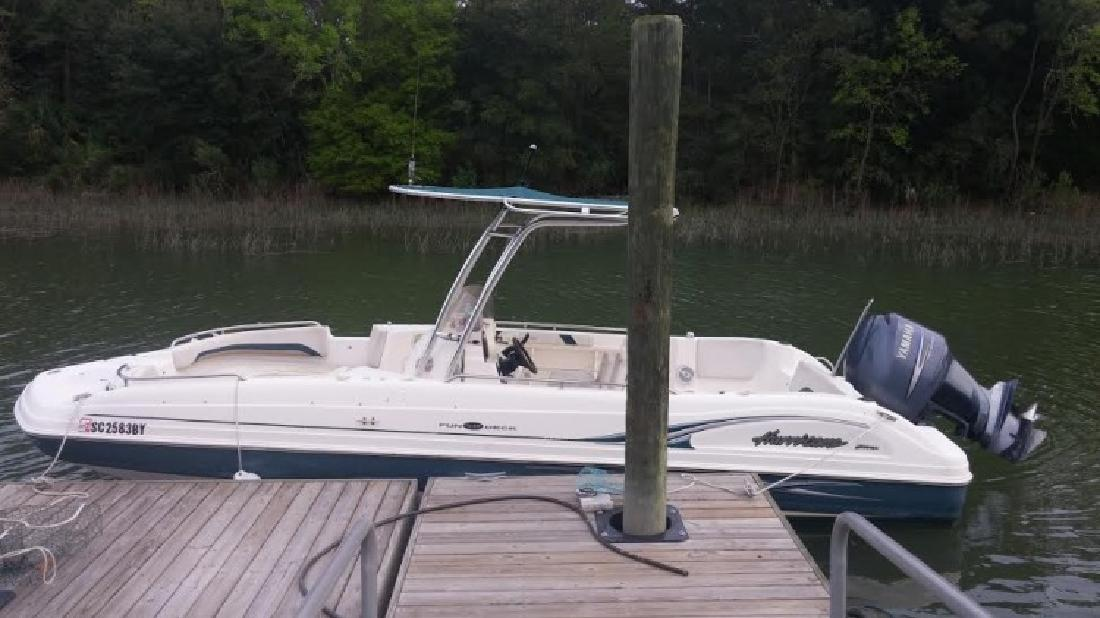 2007 - Hurricane by Godfrey Marine - FD 231GS in Bluffton, SC