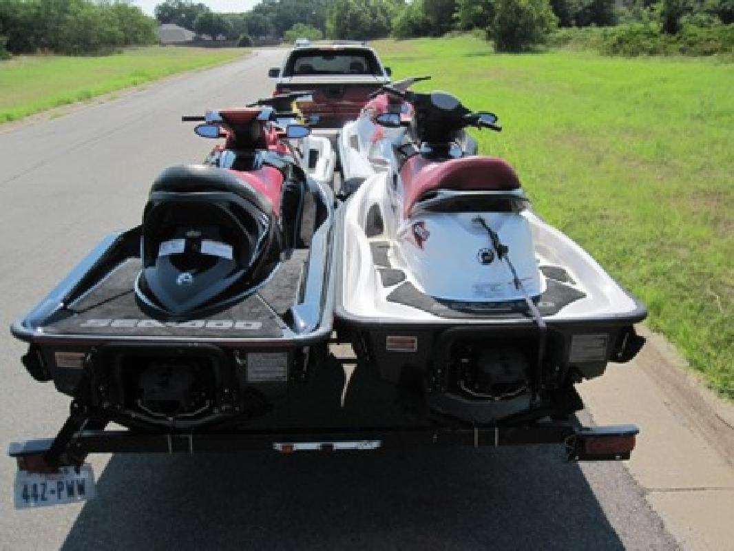$5,000 06 Seadoo RXT, 08 Seadoo GTI SE 130, 05 Yamaha VX 110, 06 Kaw STX 900