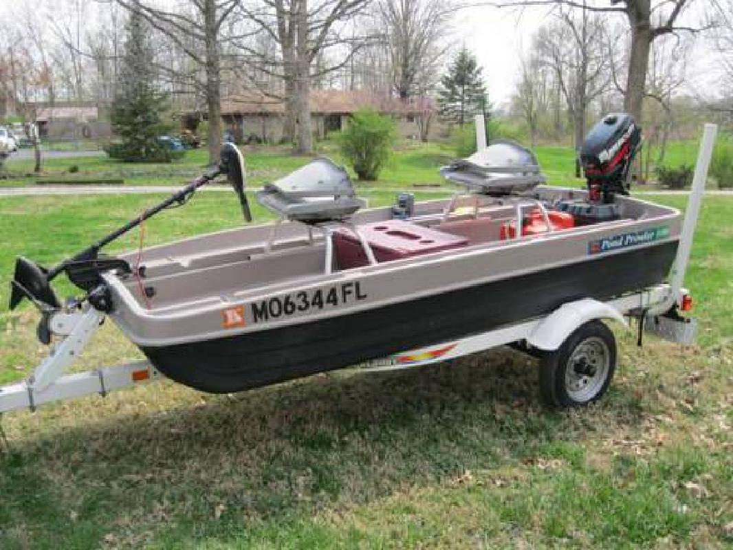 Pond prowler 100 for sale in whitestown indiana all for Pond fishing boats