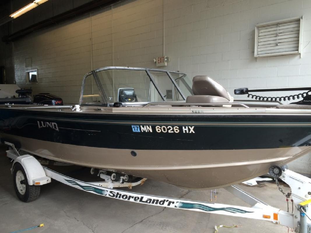 2000 - Lund Boats - 1850 Tyee GS 150 8 Yamaha Shorelandr in Bloomington, MN