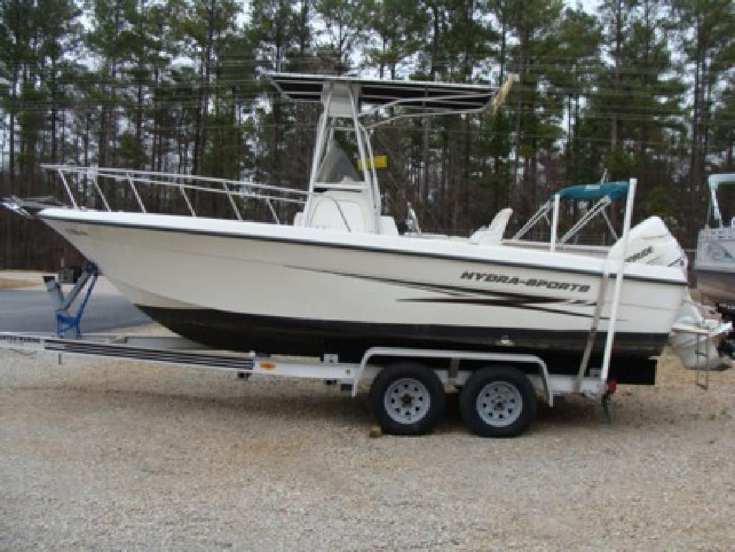 $13,995 2003 Hydra-Sports 212CC with Evinrude 150 and Loadmaster trailer
