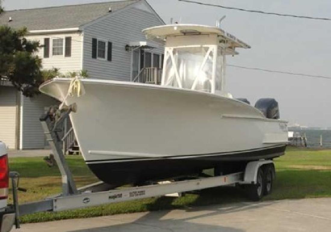 $64,900 2004 Custom Carolina (Only 150 Hours! 4 Strokes!)
