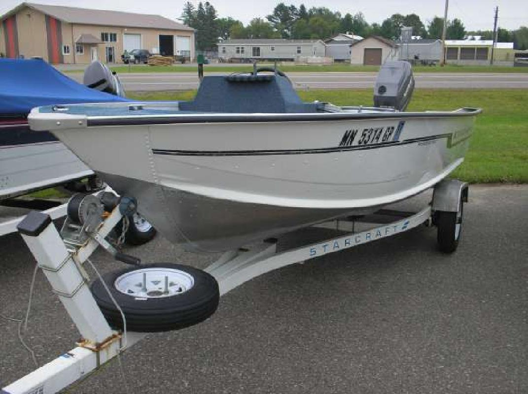 Starcraft new and used boats for sale in minnesota for Fishing boats for sale mn