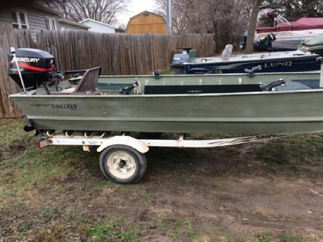 1998 - Tracker Boats - Grizzly 1648 allweld in Vermillion