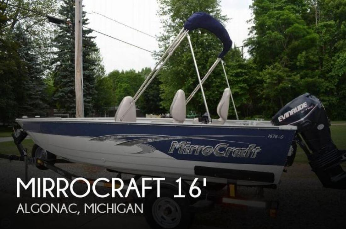2011 Mirrocraft by Northport 1676 Outfitter Algonac MI