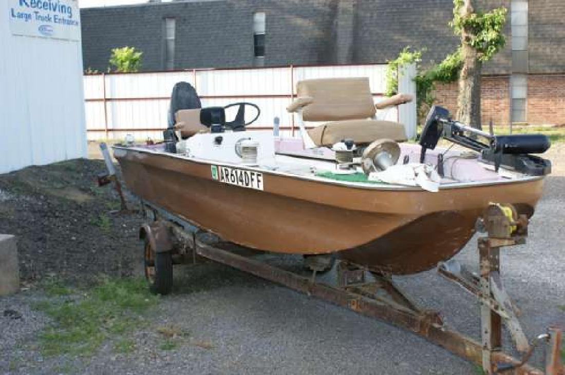 1974 16 39 other ouachita 16 jtp convince for sale in fort for 16 foot aluminum boat motor size
