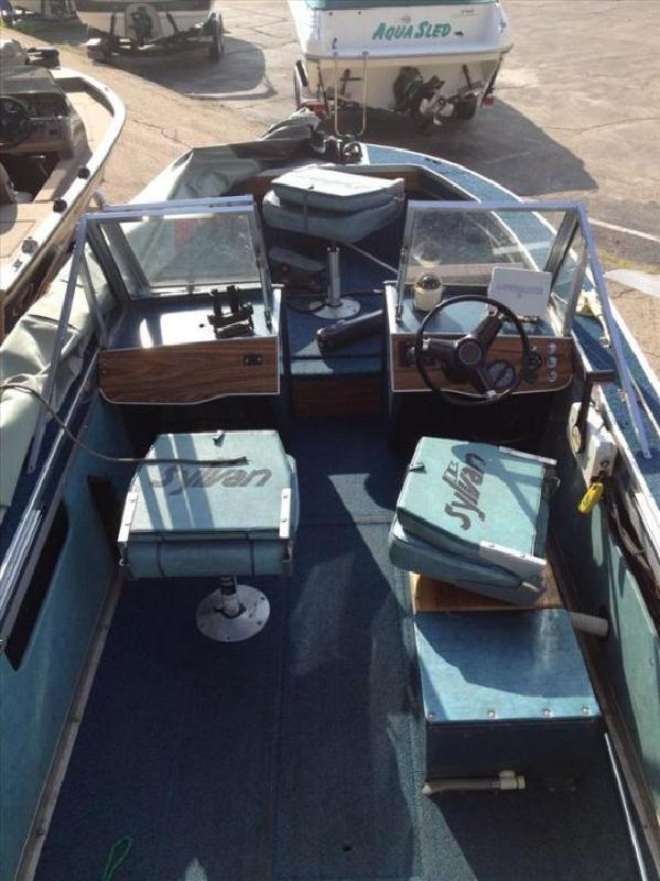 1981 Sylvan Marine Deep V 16 WT Appleton WI