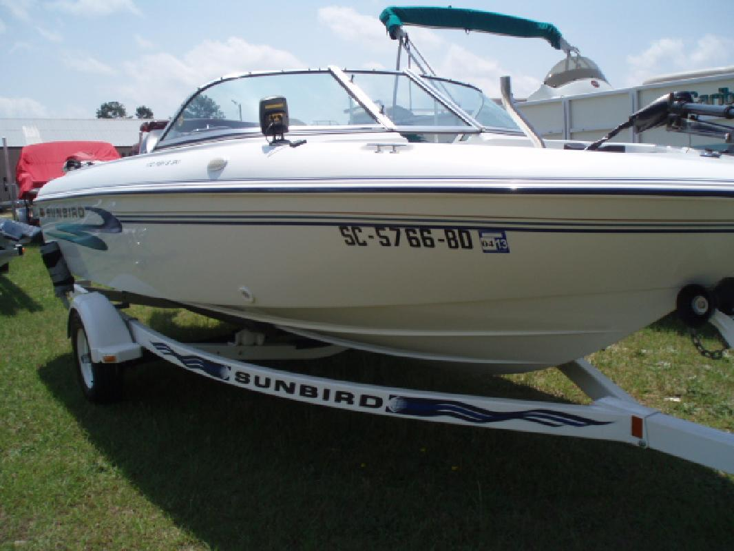 1998 17' SunBird 170 FS