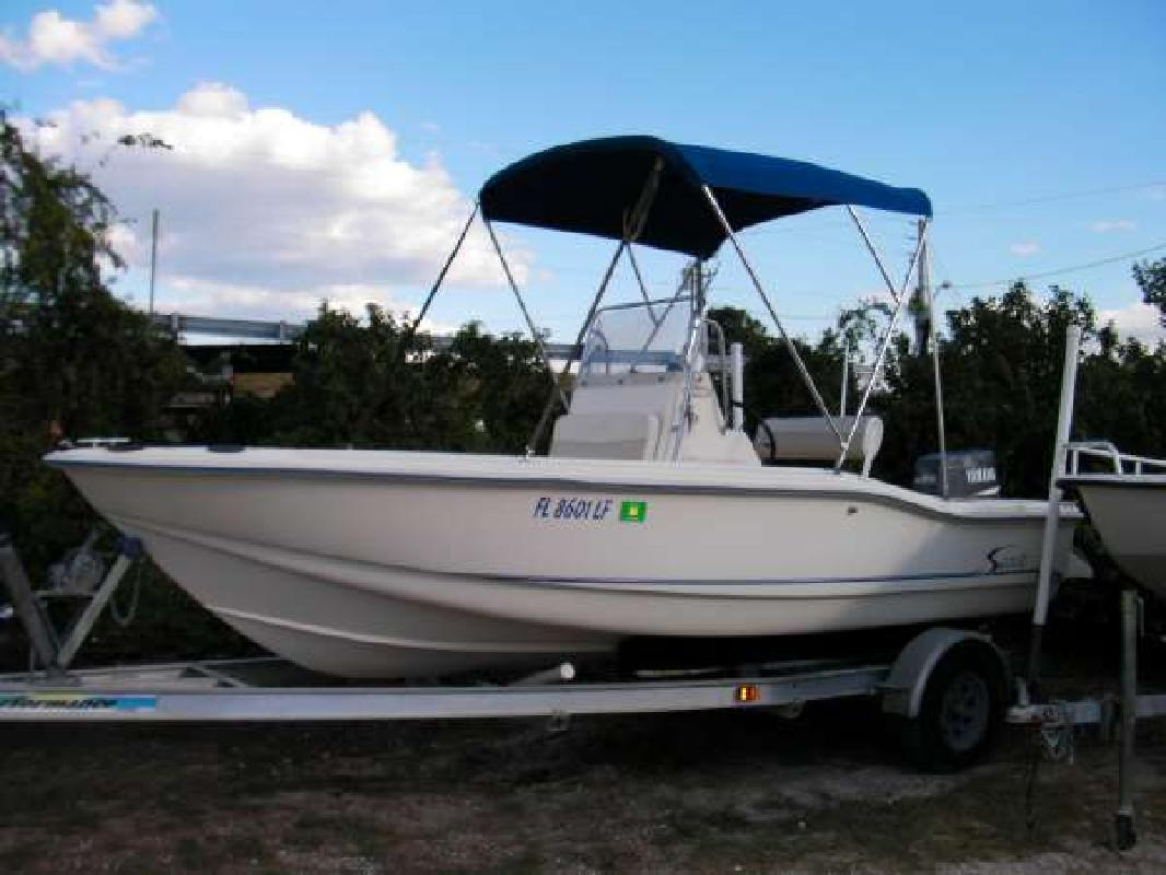 1999 17' Scout Boats 175 Sport Fish in Fernandina Beach, Florida