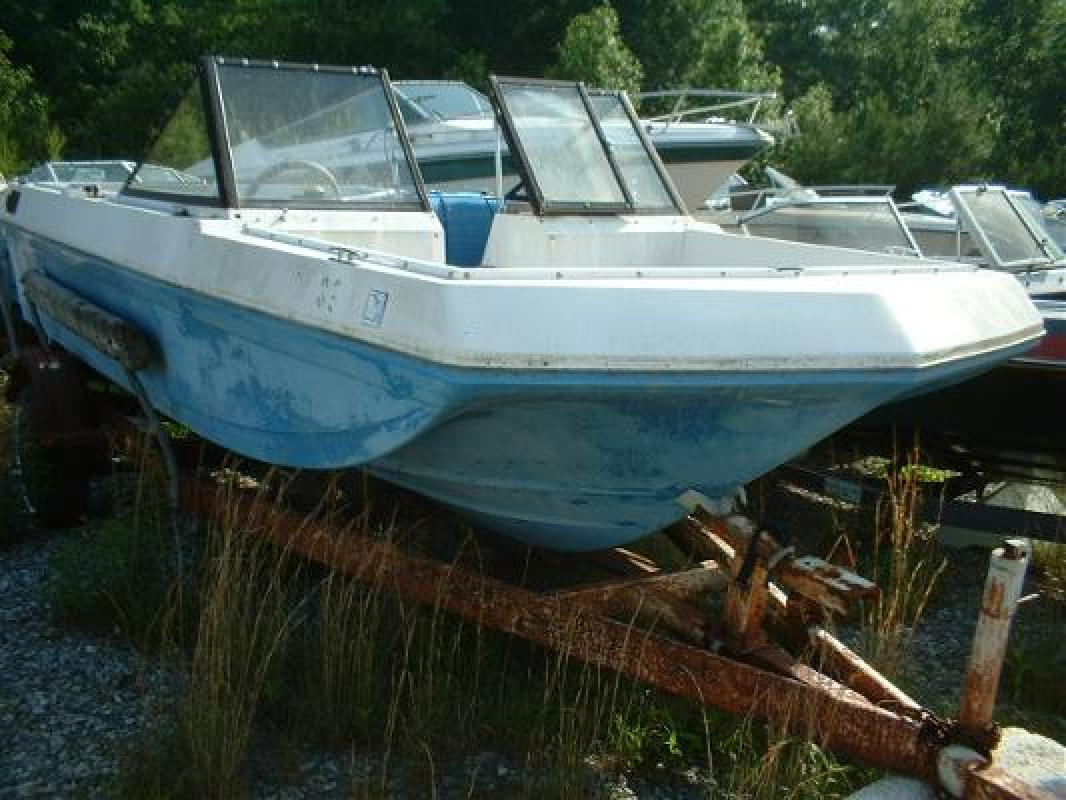1974 17 39 sea swirl boats 17 bowrider omc hull for sale in for Bowrider boats with outboard motors