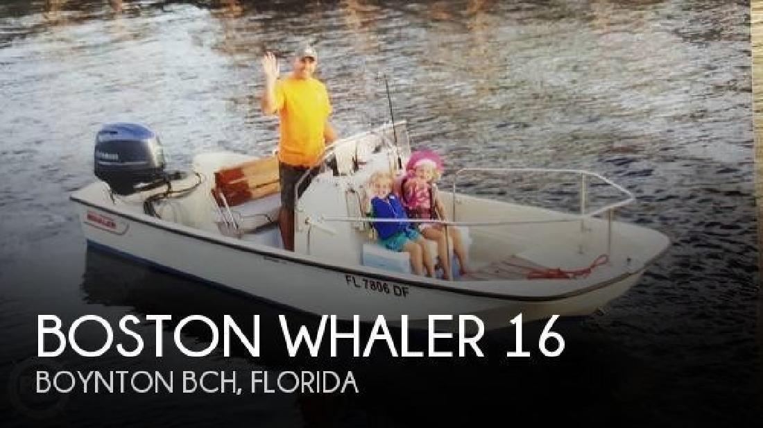 1979 Boston Whaler Montauk 17 Boynton Bch FL