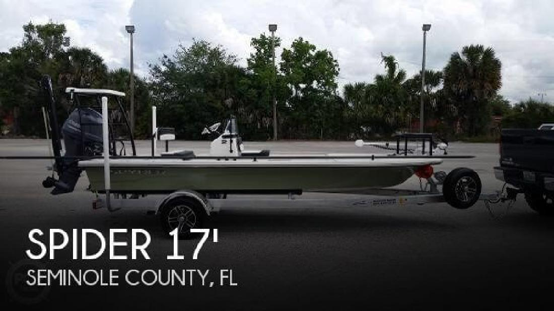 2015 Spider Boats FX 17 Flicker Wintersprings FL