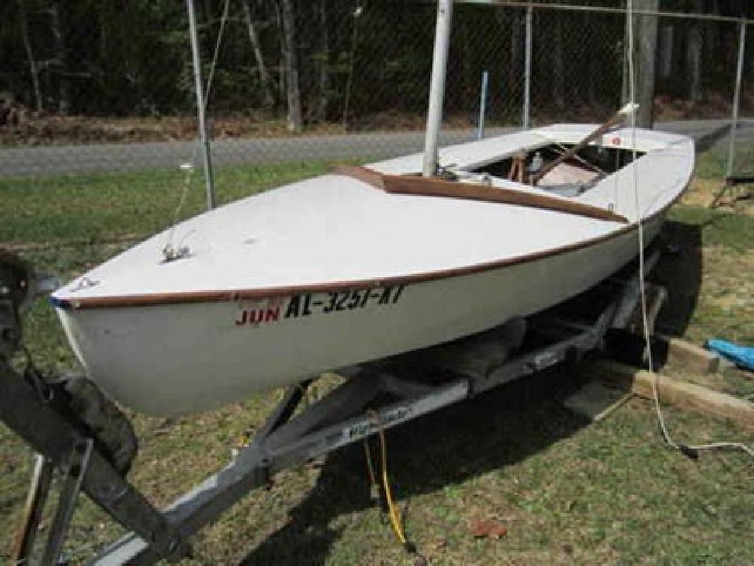 $1,200 1974 Snipe Sailboat - 17 ft. with trailer