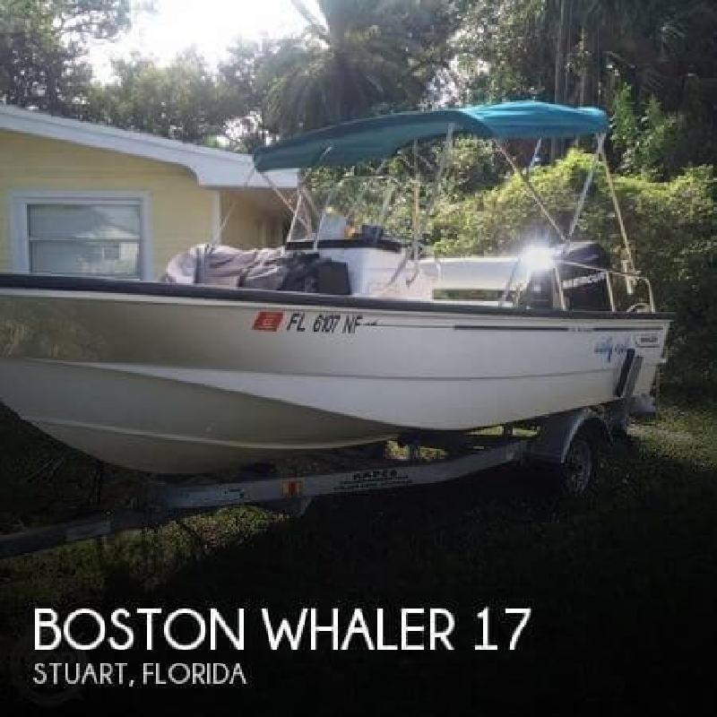 2006 Boston Whaler 17 Stuart FL