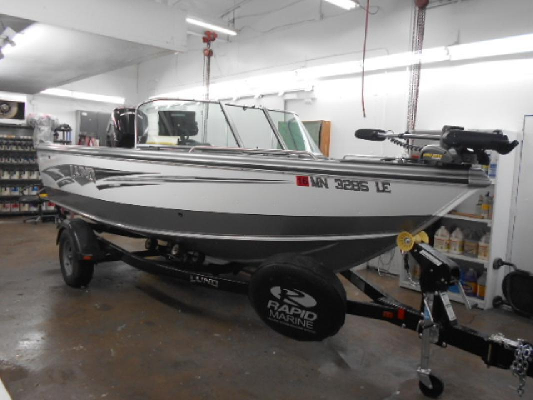 Lund new and used boats for sale in minnesota for Used lund fishing boats for sale