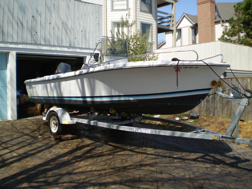 1986 18' Wellcraft 180 Fisherman in Annapolis, Maryland