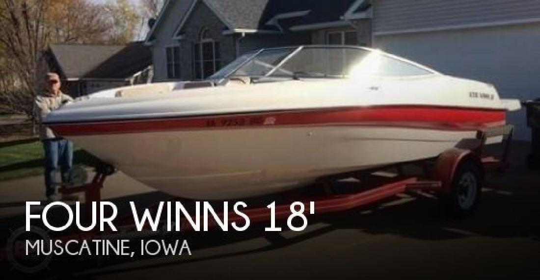 2002 Four Winns Boats 180 Horizon Muscatine IA