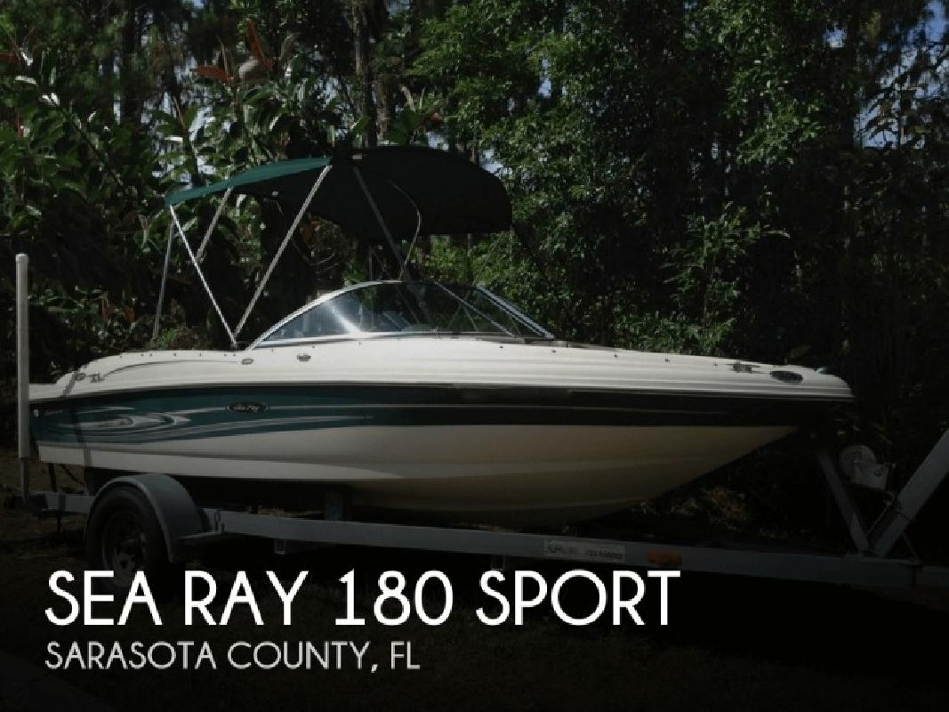 2004 Sea Ray Boats 180 Sport Englewood FL