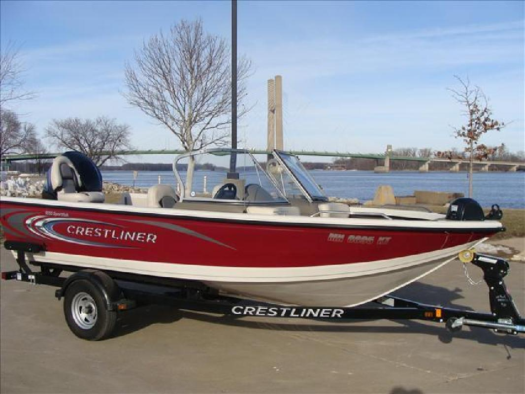 2011 crestliner boats sportfish 1850 burlington ia for for Fishing boats for sale in iowa