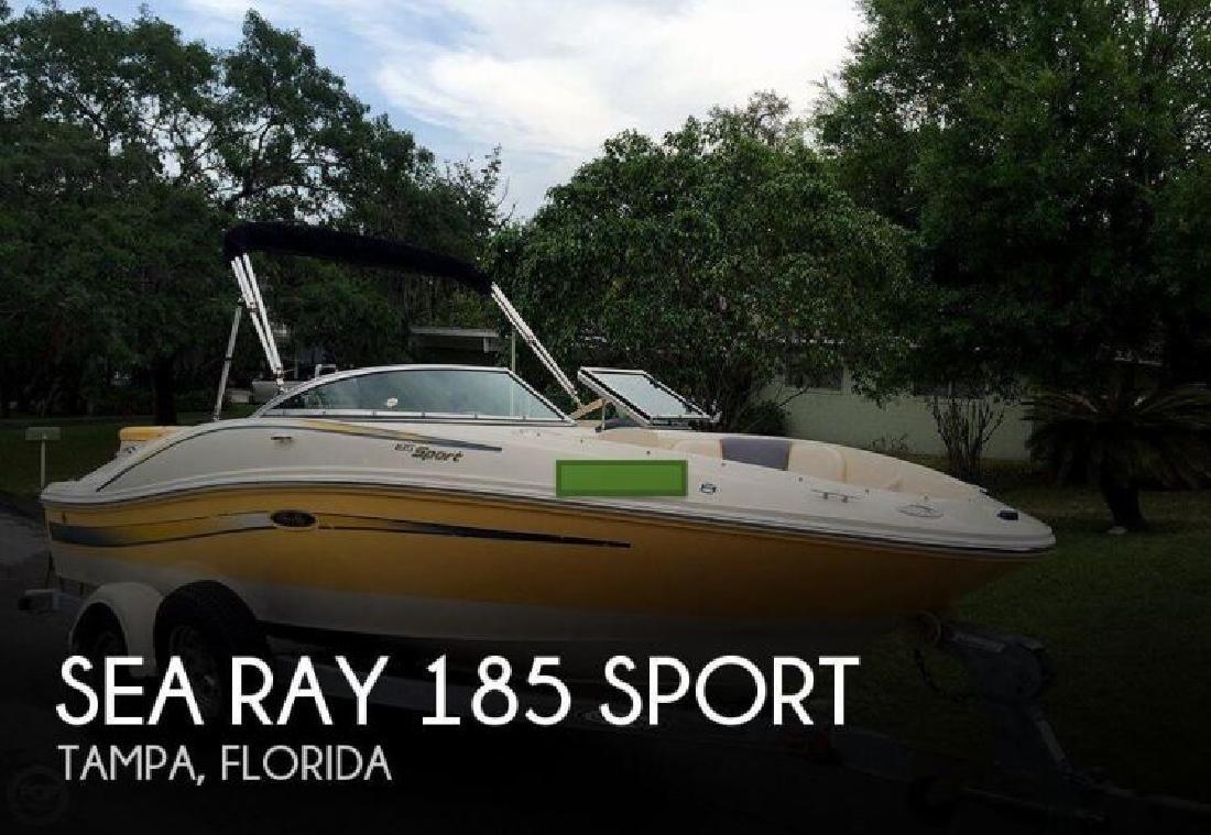 2007 Sea Ray Boats 185 Sport Tampa FL