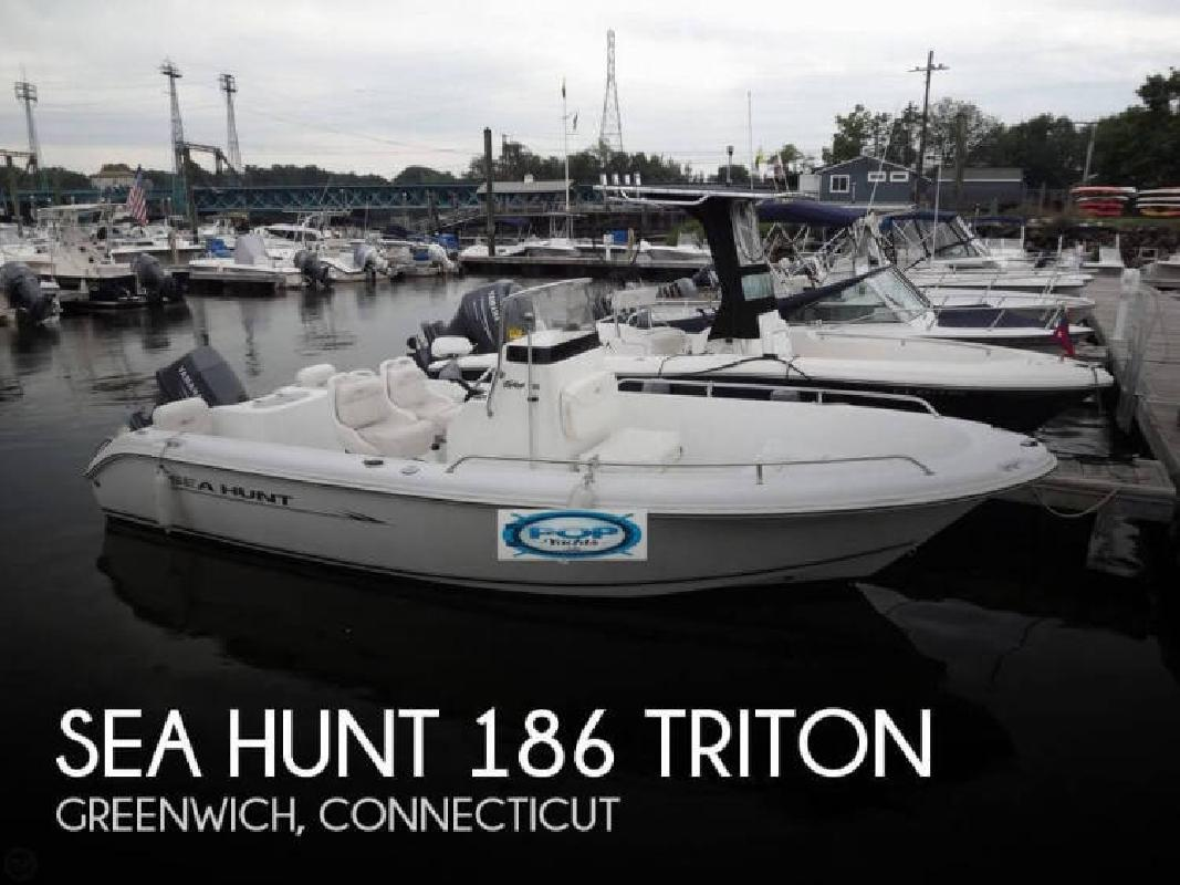 2008 Sea Hunt Boats 186 Triton Greenwich CT
