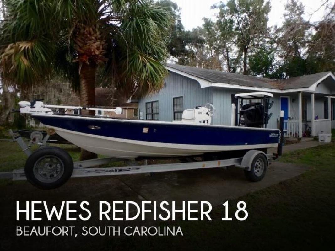2002 Hewes Redfisher 18 Beaufort SC