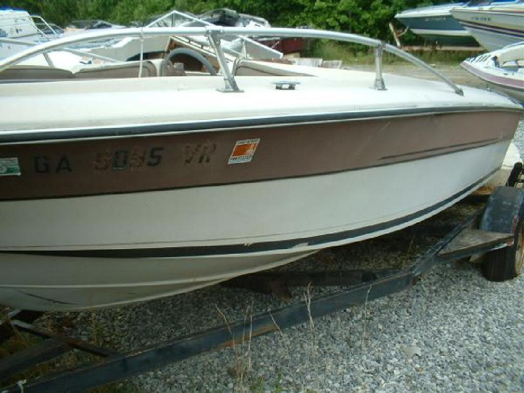 1984 18 39 renken 18 bowrider for sale in dawsonville for Bowrider boats with outboard motors