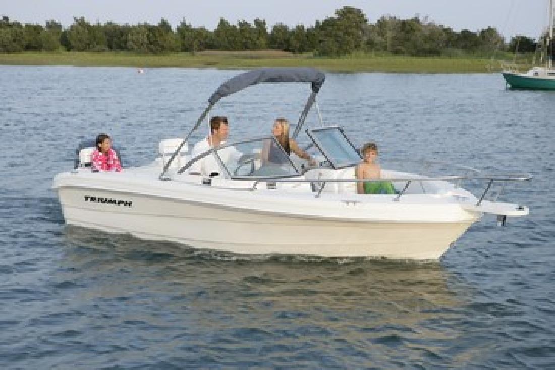 2007 19' Triumph Boats 191 Fish N Ski