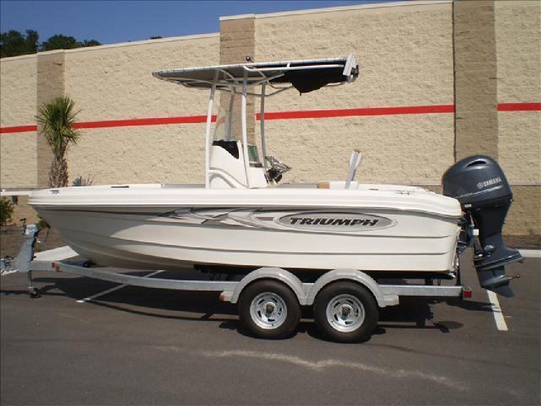 2015 - Triumph Boats - 195 CC in Bluffton, SC