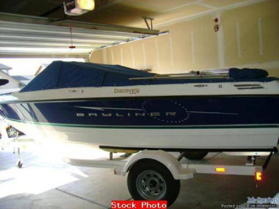 $22,000 2008 BAYLINER 195 Discovery