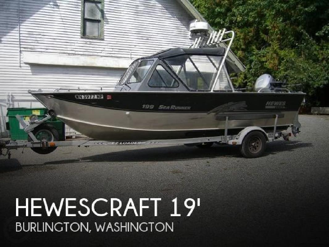 1999 Hewescraft by Hewes Marine 199 Sea-Runner Burlington WA