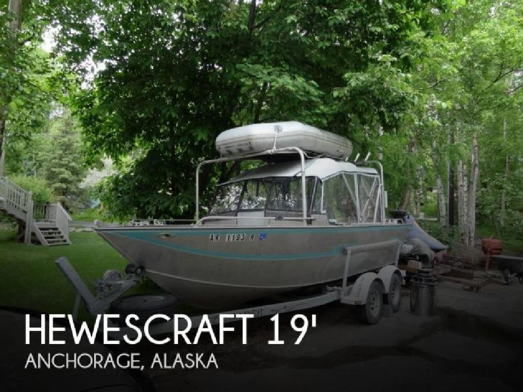 1994 Hewescraft by Hewes Marine 19 Sea Runner Anchorage AK