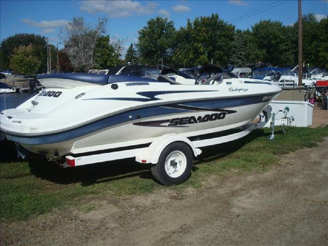 2000 SeaDoo sport boat 2000 Challenger Syracuse IN