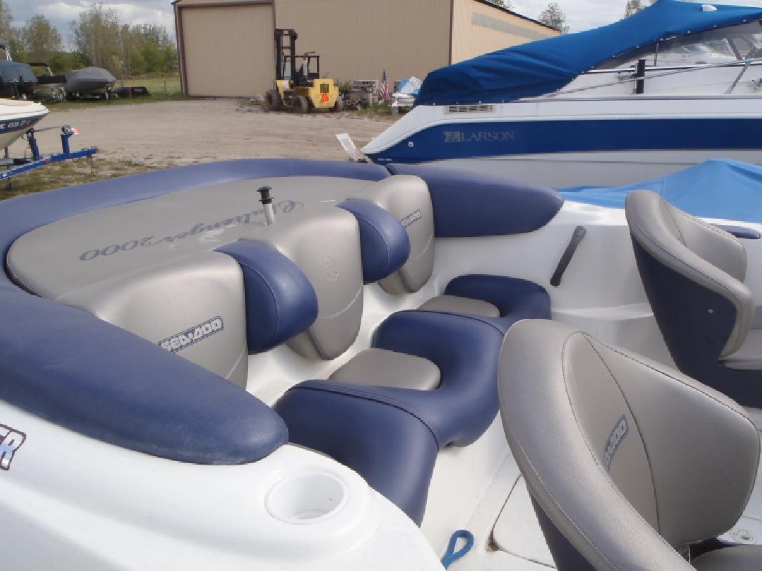 2000 - SeaDoo Boats - Challenger 2000 in Au Gres, MI