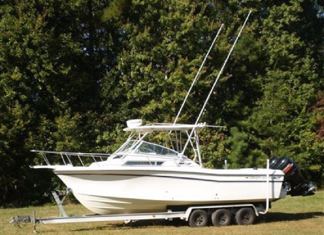 $29,995 1993 Grady White 253GT Dolphin with 2005 Twin DF200