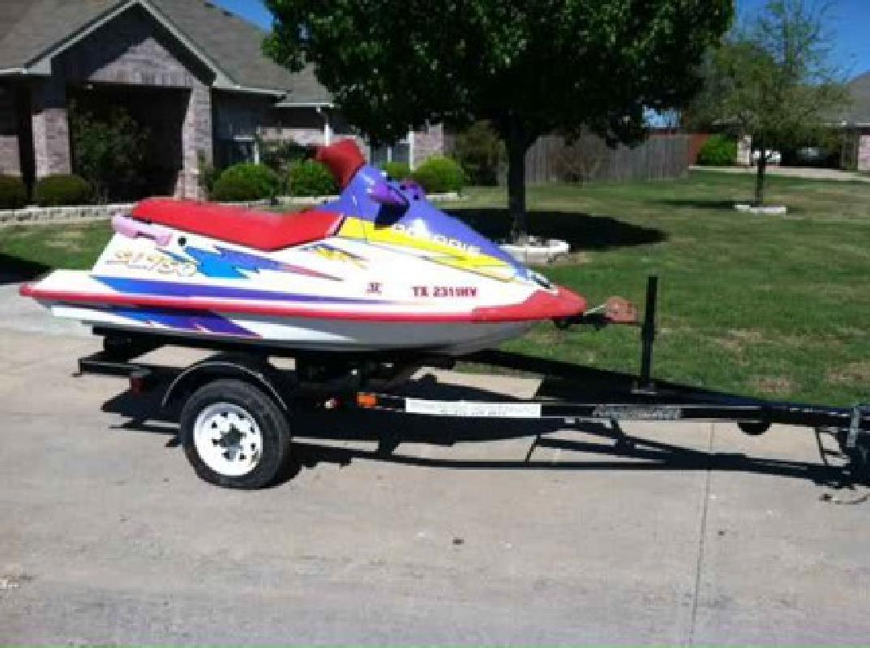 $950 1996 POLARIS 750 Jet Ski/ 2008 trailer (rockwall, tx)