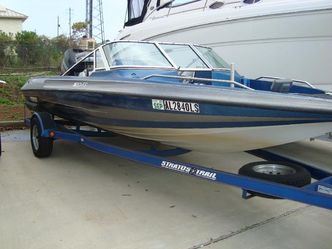 1996 20 39 stratos boats inc 201 fish and ski for sale in