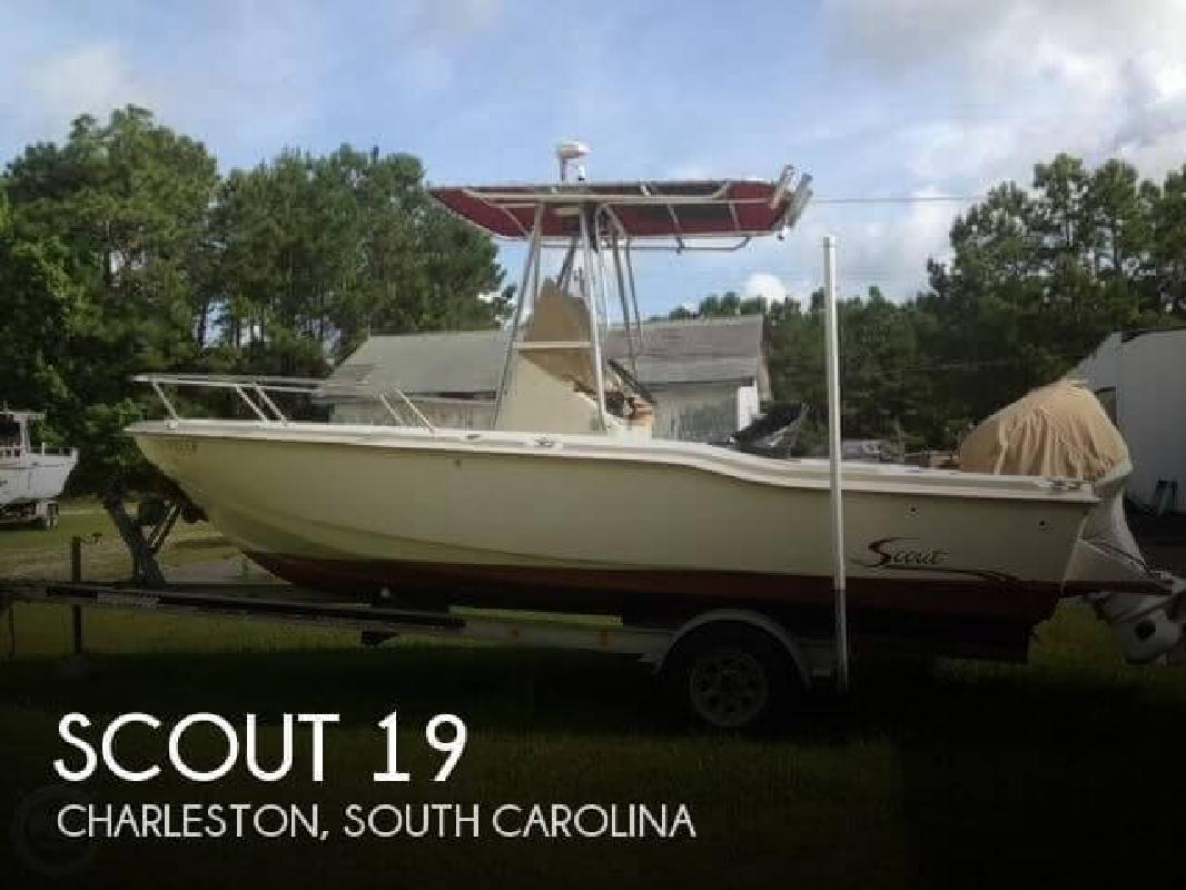 1994 Scout Boats Sportfish 202 Charleston SC