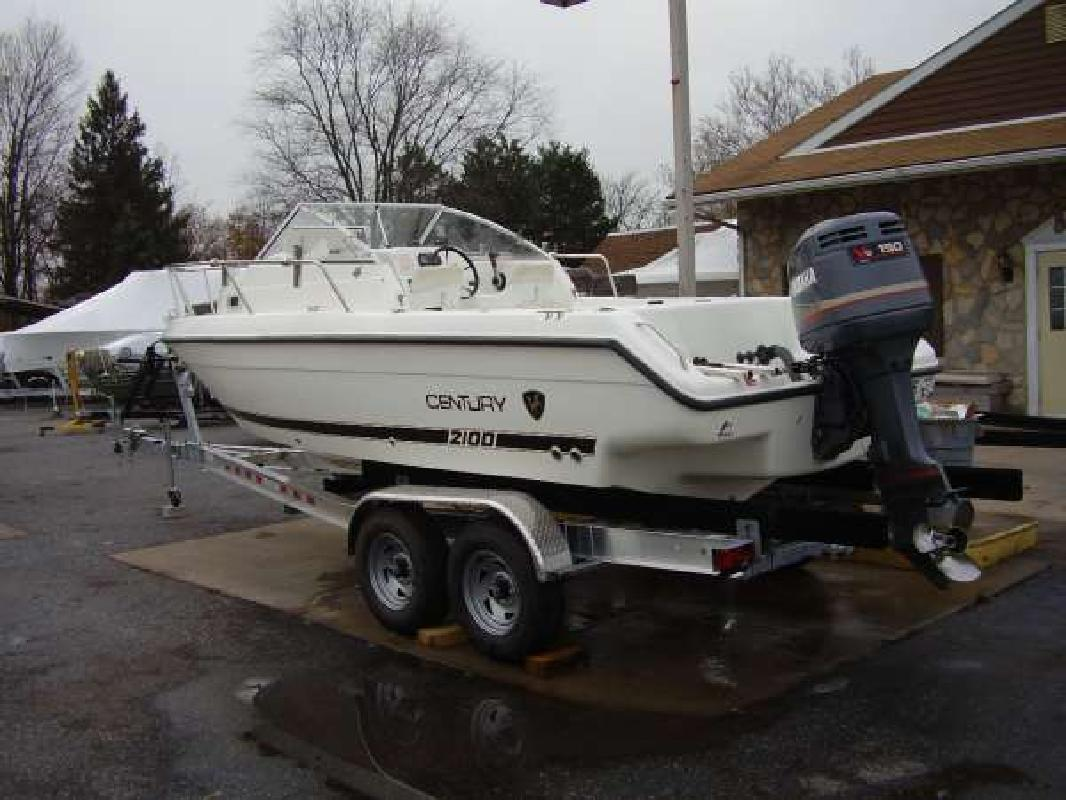 2002 20 39 century boats 20 walk around for sale in for Century motor date code