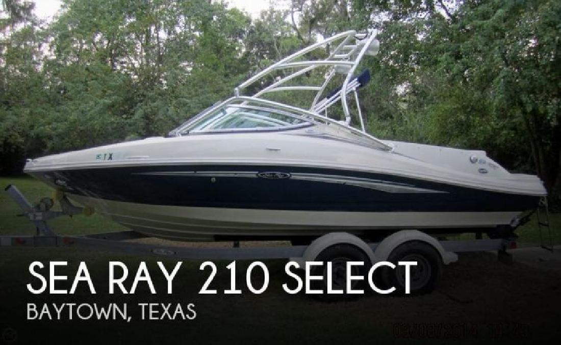 2008 Sea Ray Boats 210 Select Baytown TX