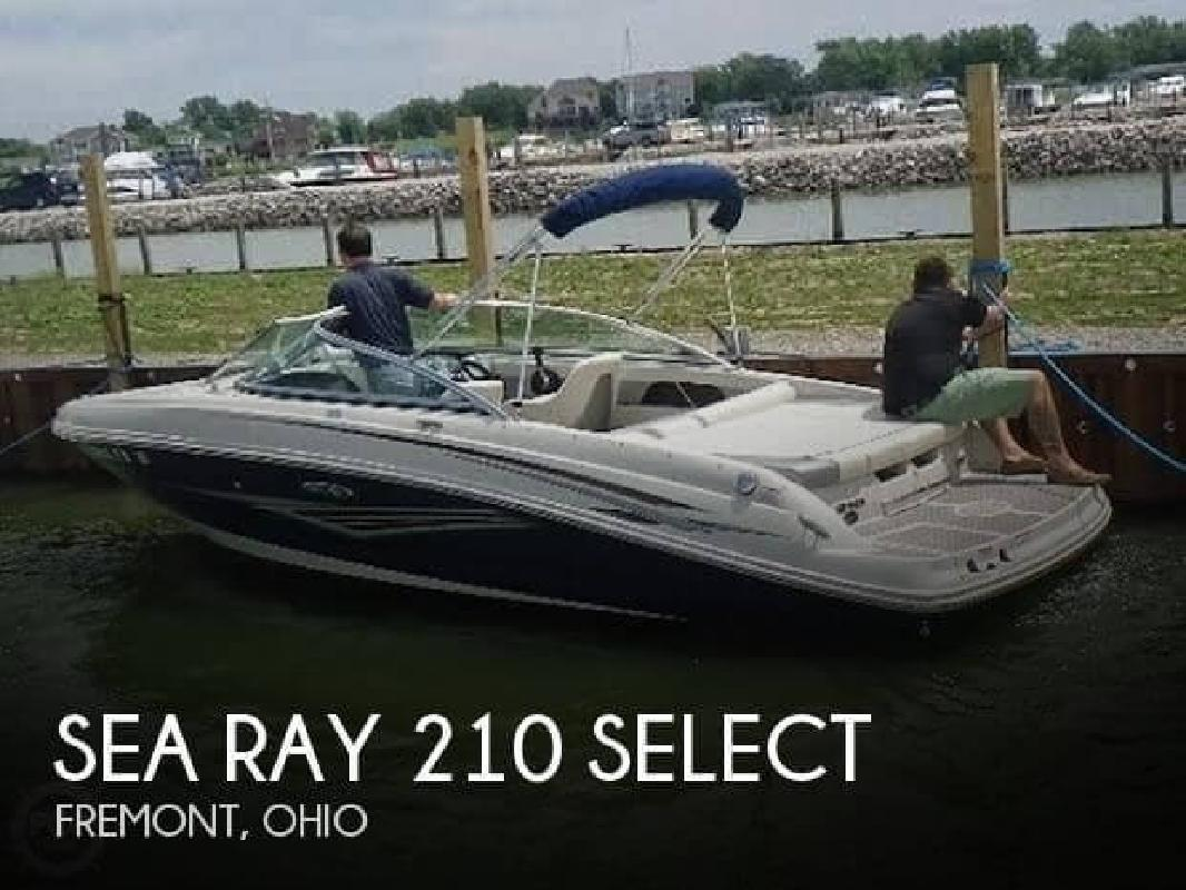 2010 Sea Ray Boats 210 Select Fremont OH
