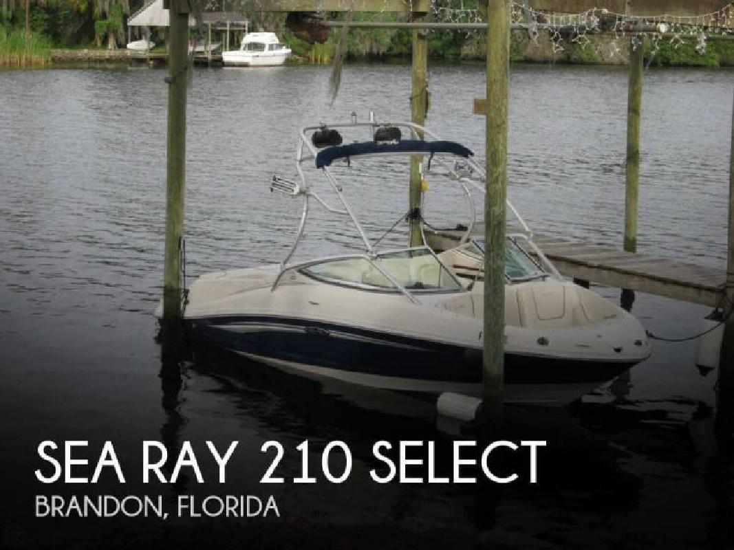 2008 Sea Ray Boats 210 Select Tampa FL