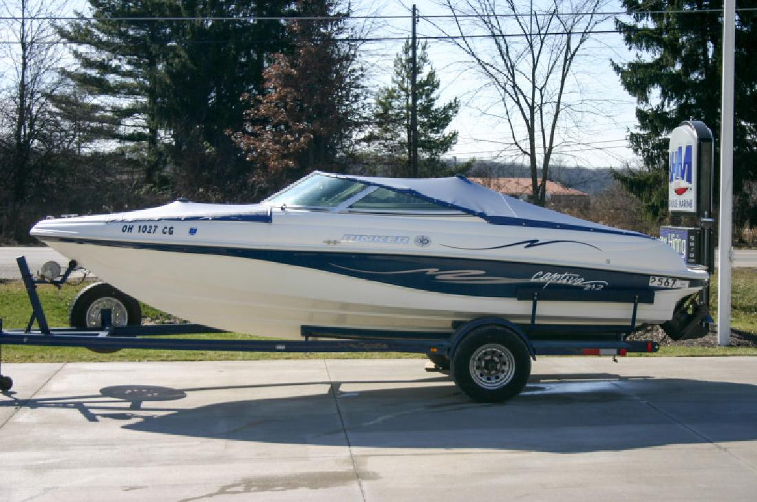 1998 - Rinker Boats - 212 Captiva in Rootstown, OH