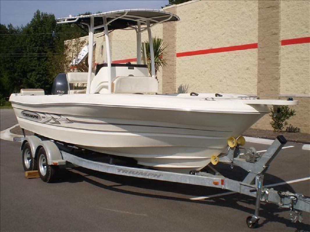 2015 - Triumph Boats - 215 CC in Bluffton, SC