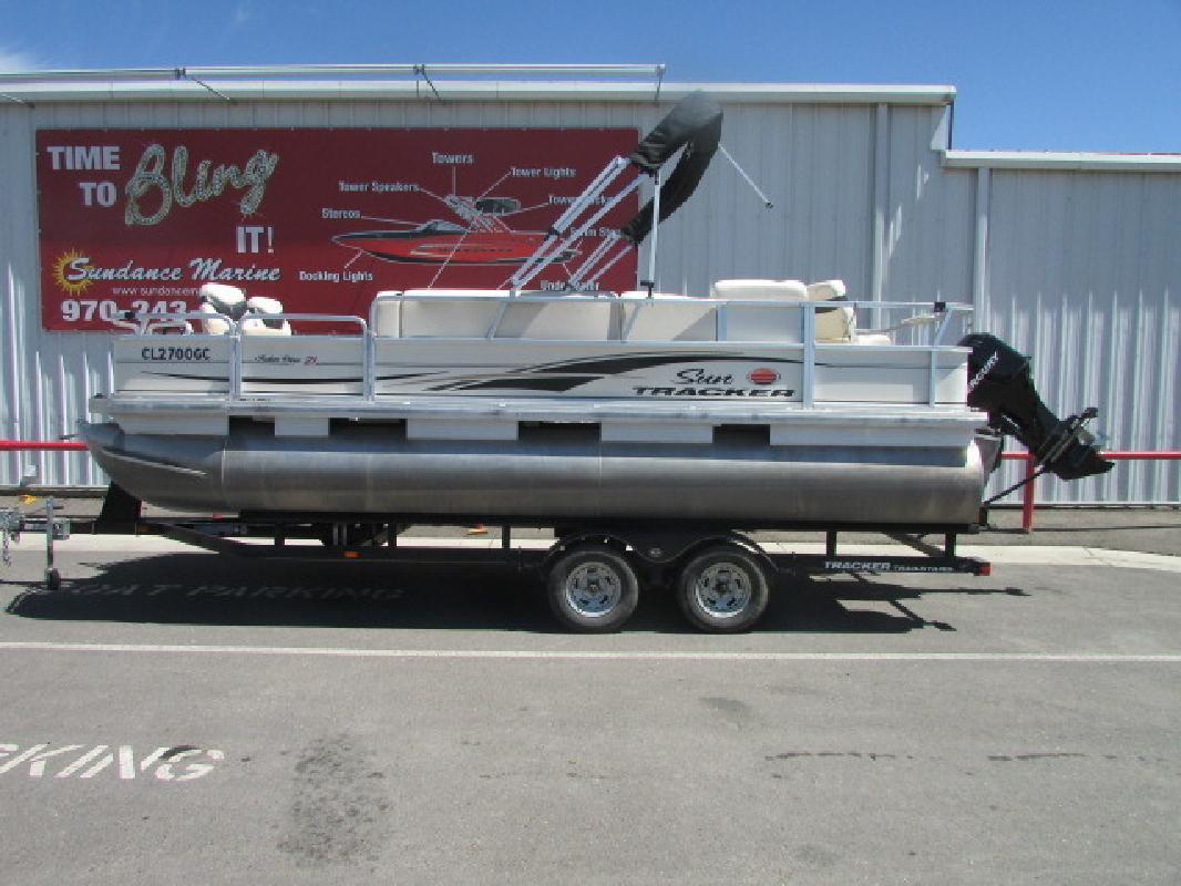 2008 Sun Tracker Fishing Barge 21 Grand Junction CO