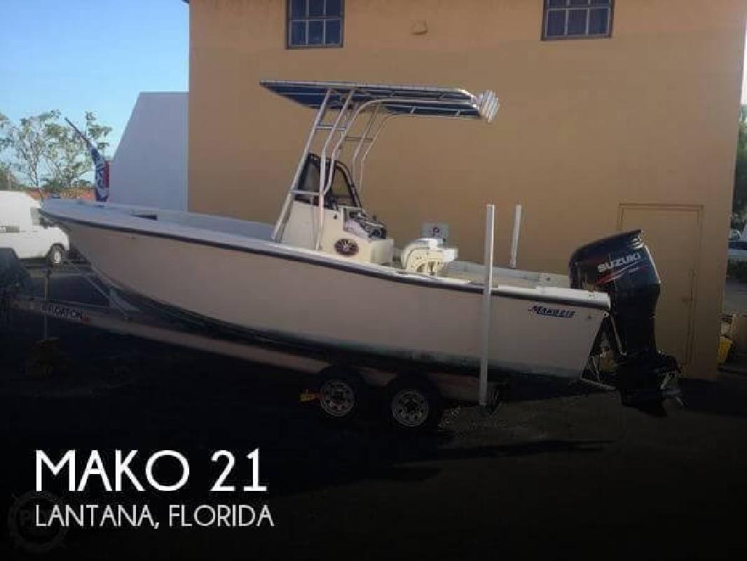 1985 Mako Marine 21 Lantana FL