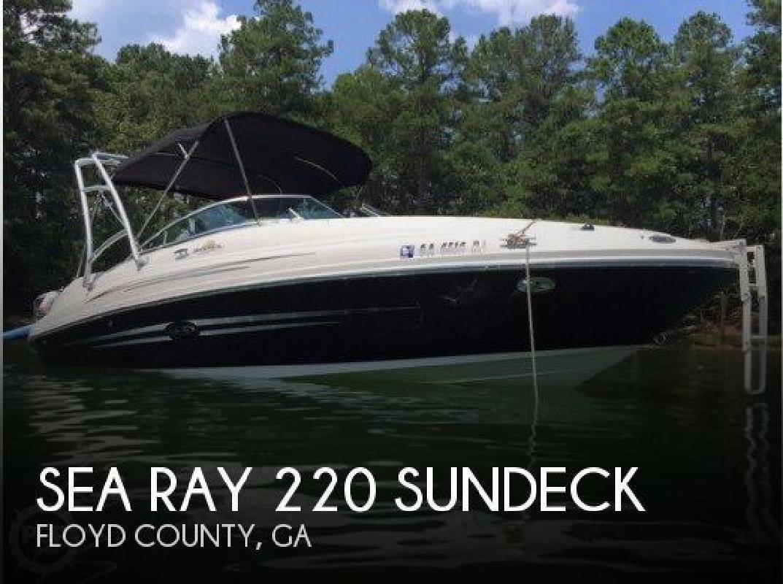 2007 Sea Ray Boats 220 Sundeck Rome GA