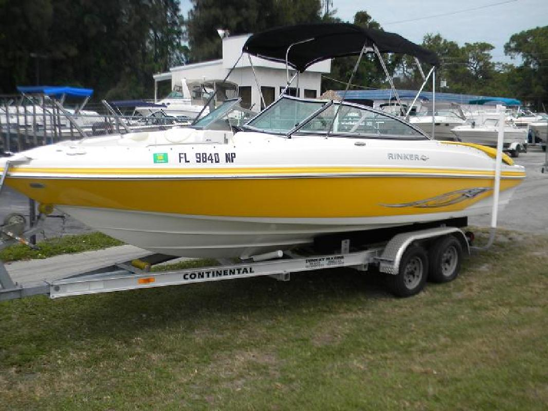 2007 22' Rinker 226 Captiva for sale in New Port Richey, Florida | All Boat ...