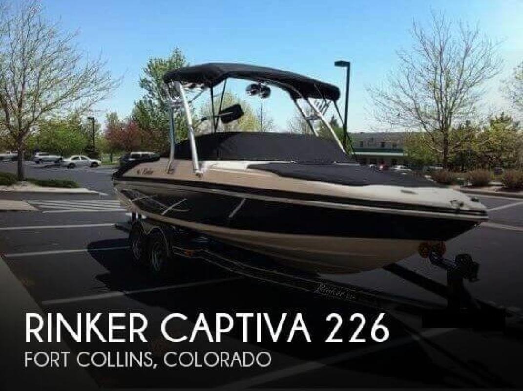 2006 Rinker Boats Captiva 226 Fort Collins CO